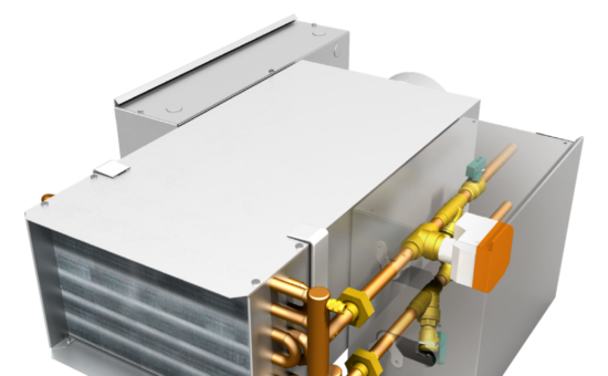 AZON-W: Acu-Zone™ Hot Water Duct Heaters